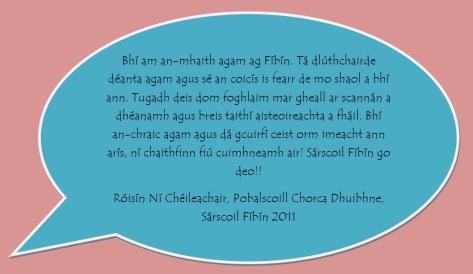 Róisín Ní Chéileachair